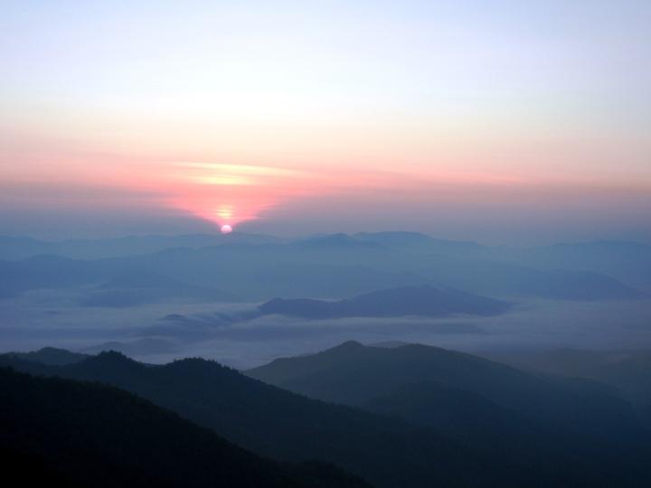 Summer Sunrises in the Nantahala Gorge