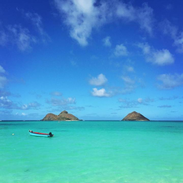 Kayak to Moku Nui - the Offshore Island Pictured on the Left