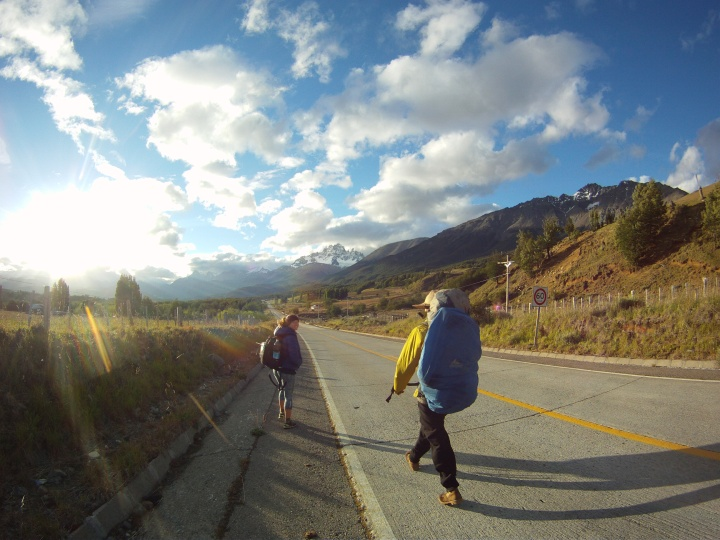 Hitchhiking on New Years Eve to Cerro Castillo