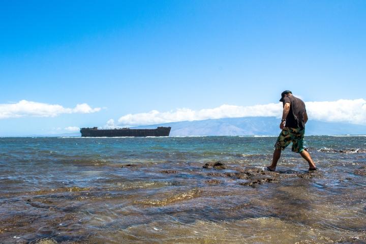 Clay Exploring the Hawaiian Island Lana'i