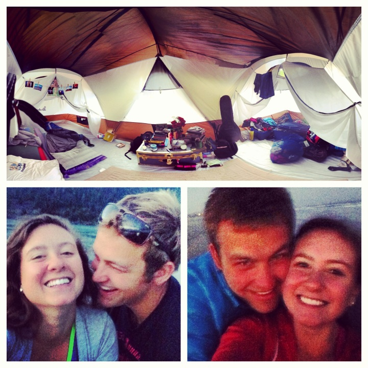Tent living in the Columbia River Gorge. Life is good!