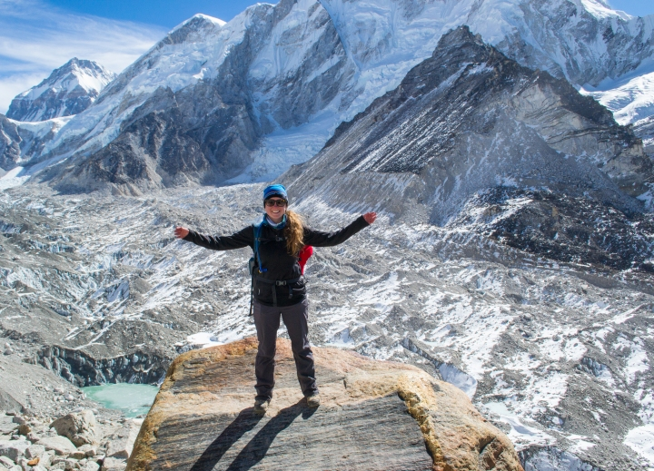 Hours Away from Everest Base Camp - 17,000 Feet in Elevation