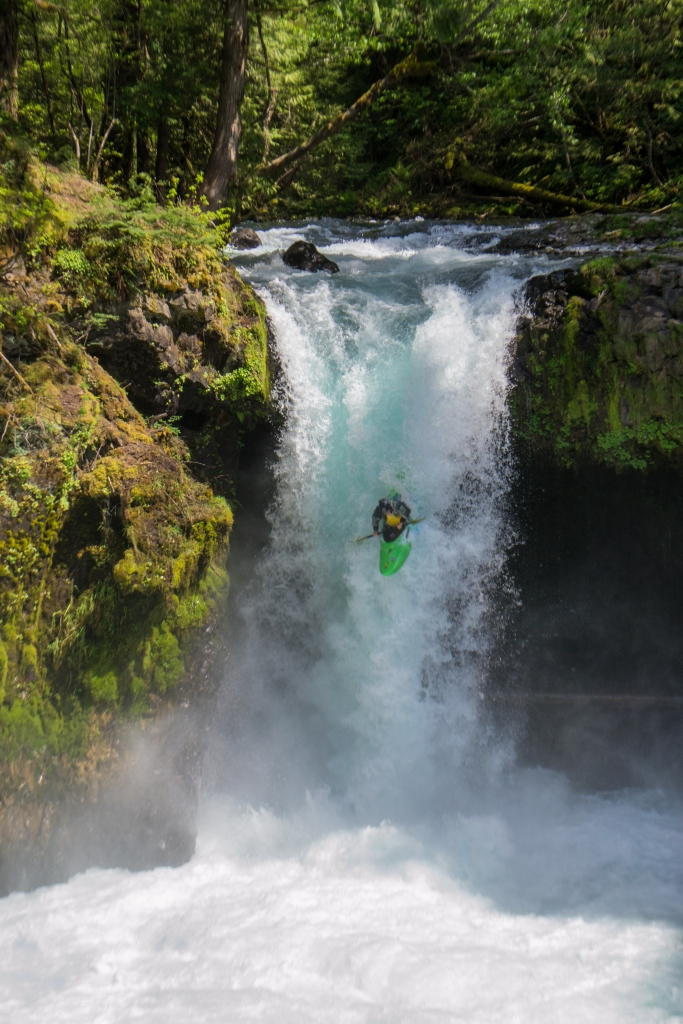 Little White Salmon Free-Falling