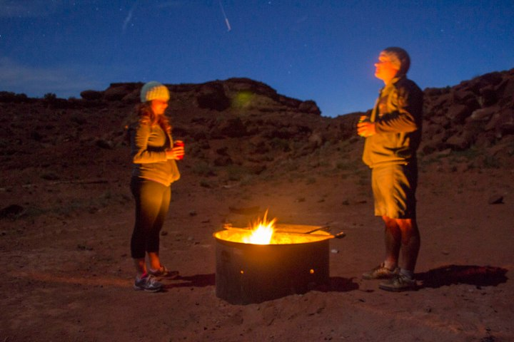 Camping Outside of Arches National Park