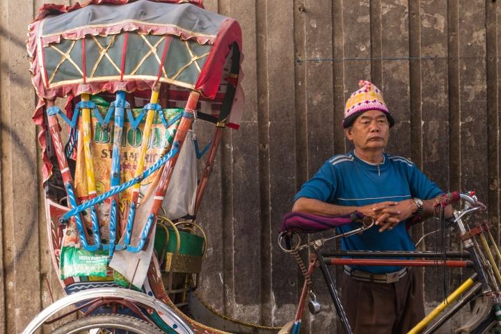 Rickshaws of Kathmandu