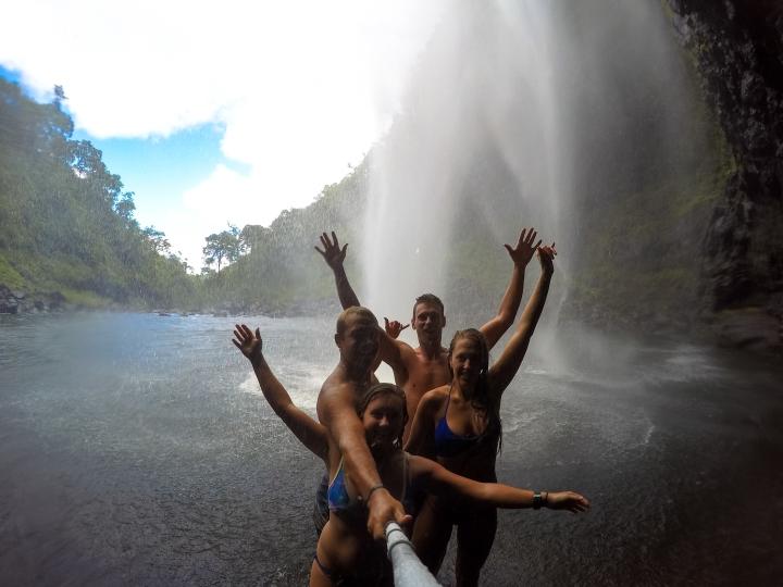 Behind the veil of Hanakapiai Falls
