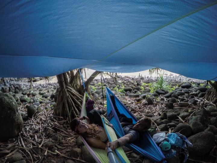The camp set-up!