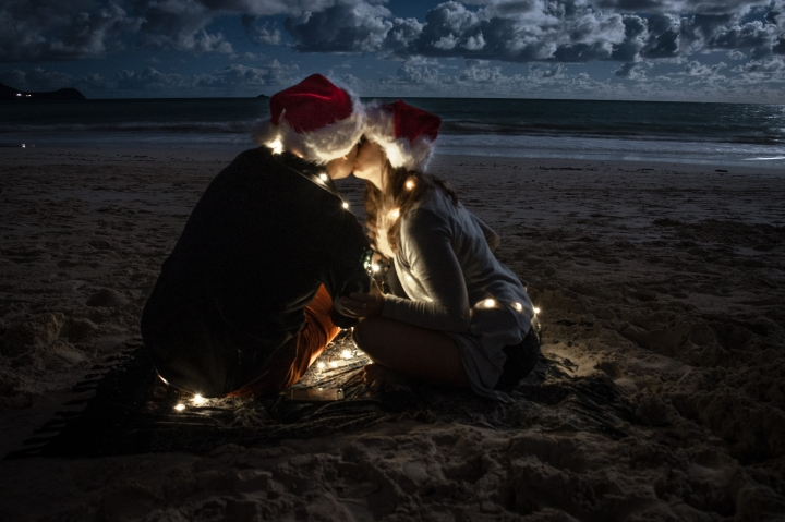Christmastime in Hawaii