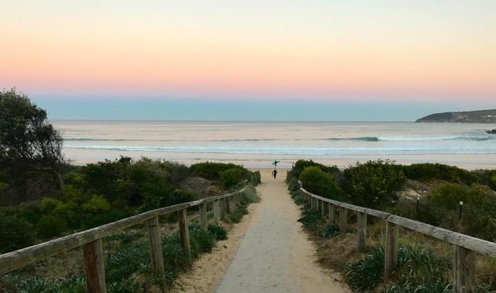 Pathway to a beach in Sydney, Australia