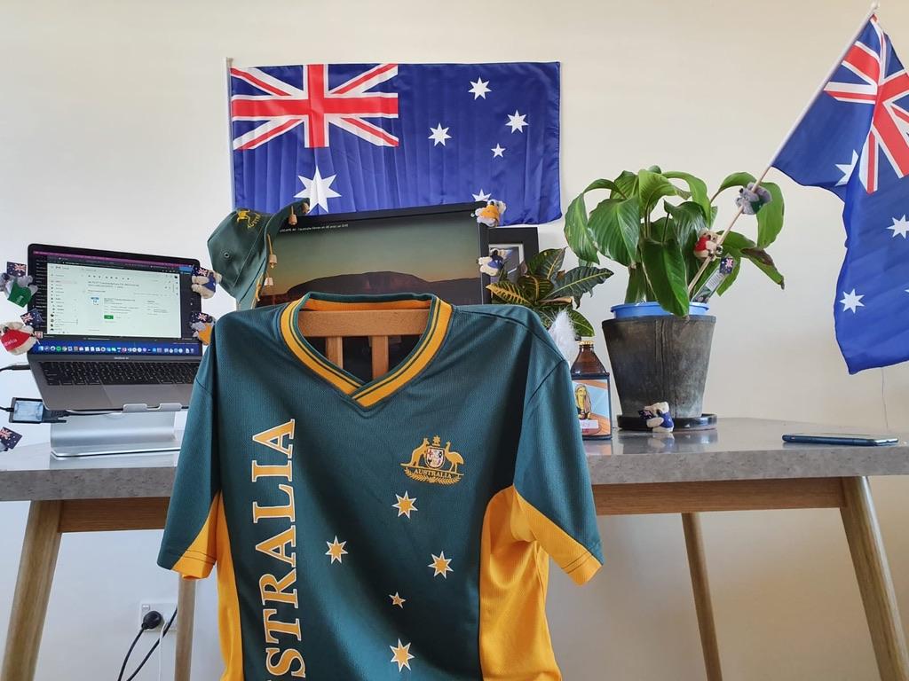 Cary's virtual Australian Citizenship Ceremony